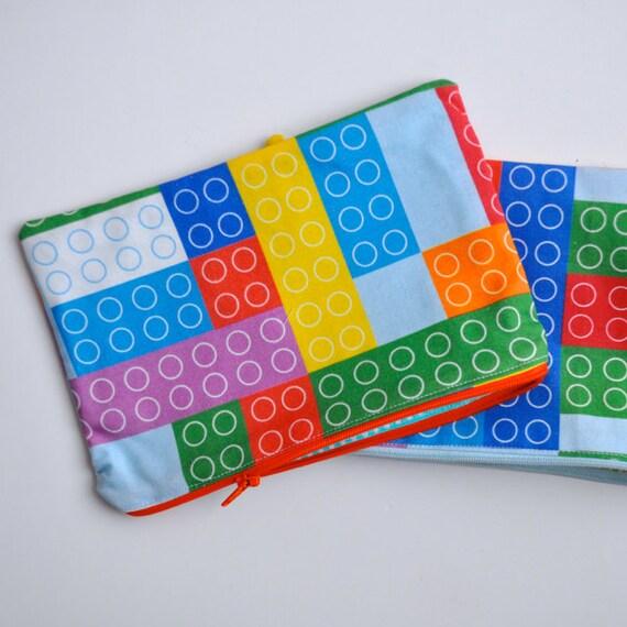 Bricks pencil case