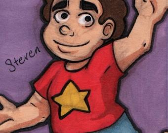 ACEO - Steven Universe - Original drawing