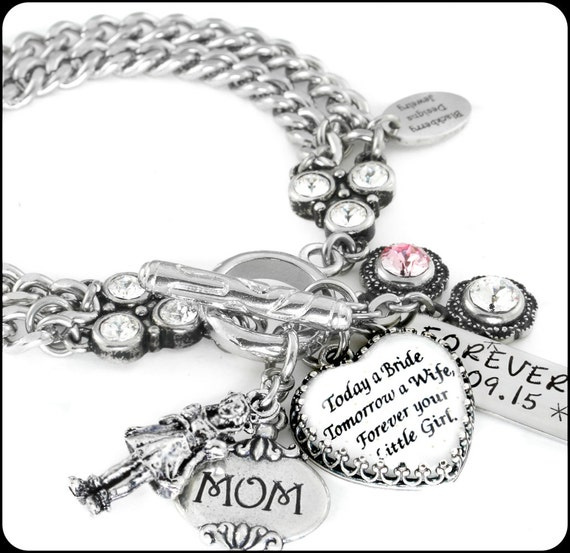 Jewelry Wedding Gift For Daughter : Wedding Jewelry for Mom, Daughter Gift to Mom, Mothers Bridal Jewelry ...
