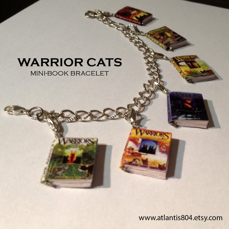 Warriors Book Series Quizzes: Warrior Cats Mini-Book Series Bracelet By Atlantis804 On Etsy