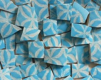 Mosaic Tiles-Tadelakte Blue-59 Tiles