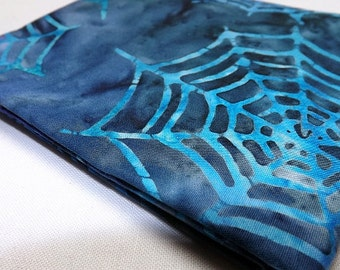 Fat Quarter To The Extreme Batik Robert Kaufman Spider Webs Halloween Quilting Sewing Fabrics