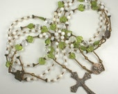 Handmade Lazo Wedding Rosary Reserved for Nikki