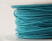 Teal Wired Twine - 25 yards - Prima Wire Thread - Scrapbooking Floral Wedding Bridal Favor