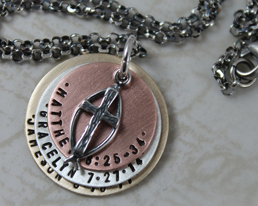 personalized keychain or necklace mens personalized necklace