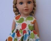 "Clothes for American girl,Journey Girl,Madame Alexander,Battat,Springfield,Gotz 18"" Doll Dress"