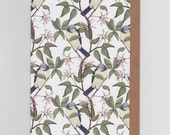 Bird Spotting | Greetings Card with Repeat Bird Pattern
