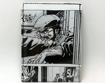 Sewn Comic Book Wallet - The Walking Dead - Zombie Design 3