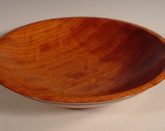 African Bubinga Wood Bowl Turned Wooden Bowl Number 5918