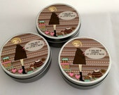 Three little Tins - I could give up chocolate but I'm not a quitter.