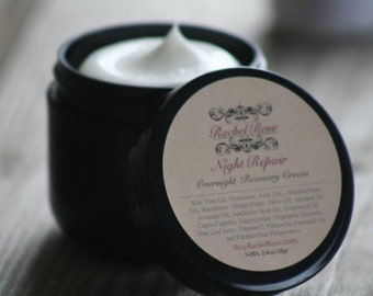 Night Repair - Overnight Recovery Cream with Meadowfoam Oil, Exotic Butters and Hyaluronic Acid 2.4oz