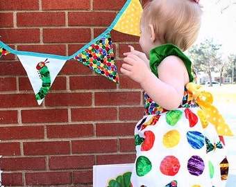 The Very Hungry Caterpillar dress