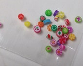 Dollhouse Miniature Fimo Candy - Cut Rock - Old Fashioned Hard Candy - Polymer Clay