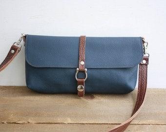 SALE // Krysse Crossbody Bag / Leather Crossbody Bag / Small Crossbody Purse / Leather Purse