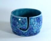 Ceramic Yarn Bowl Tahiti Grape