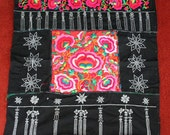 Textiles -  Hmong Baby Carrier/ Hmong / Miao fabric / Hmong embroidery panels - 1038