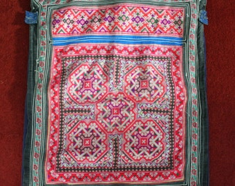 Textiles -  Hmong Baby Carrier/ Hmong / Miao fabric / Hmong embroidery panels - 1048
