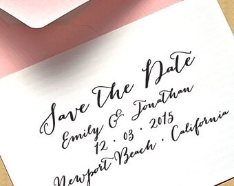 SAVE the DATE Stamp, Custom Save The Date Stamp, Self Inking Stamp, Custom Rubber Stamp, diy wedding, RSVP Stamp - Save The Date Stamp 3