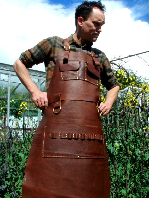 GIFT CERTIFICATE Custom leather apron by CyclonaDesigns on ...