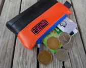 Eco friendly mini change purse made from bicycle inner tube