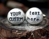Personalized Cufflinks - Custom Cufflinks