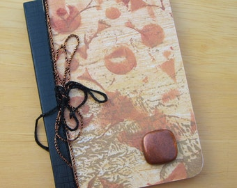 Mini Copper Lined Blank Notebook, Lined Composition Journal, Bullet Journal, Travel, Writing, Diary, Prayer Journal PSS 2385