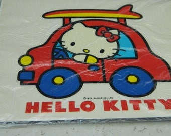 Vintage Sticker-Hello Kitty