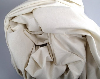 Raw Silk Fabric, Silk Noil width 55 inch, Silk Fabric, Sewing supply, Fabric supply