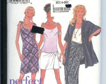 Style Dress  Top Vest   Jacket  Size  A  6 to 16  Sewing  Pattern   2632   ---     2 Hour Separates