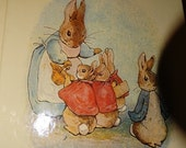 1984 Tales of Peter Rabbit and His Friends by Beatrix Potter Stories and her Illustrations, Easter Book, Bunny, Rabbit