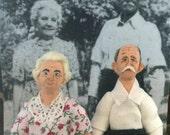 Laura and Almanzo Wilder Rocky Ridge Farm Days Doll Miniature Set
