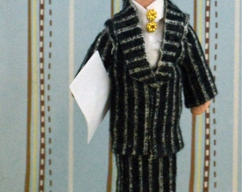Joan Crawford as Mildred Pierce Doll Fan Art Miniature