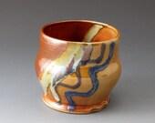 Tea Bowl with Desert Colors - Handmade Ceramic Tea Cup
