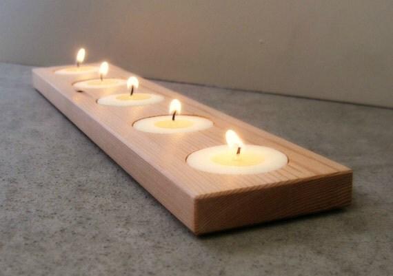 bougeoir moderne d coration de spa salle de par andrewsreclaimed le fait main. Black Bedroom Furniture Sets. Home Design Ideas