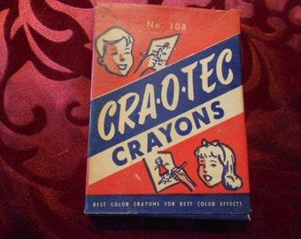 Vintage Cra-O-Tec Crayons
