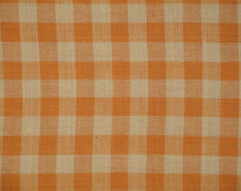 Homespun Material | Cotton Material  | Quilting Material | Large Check Material | Bolt End 44 x 40