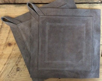 Large Suede Potholder - 19 Colors Options