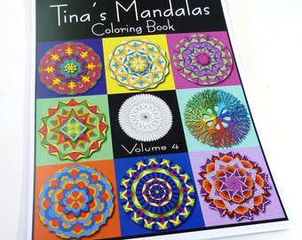 Mandala Coloring Book - VOLUME 4