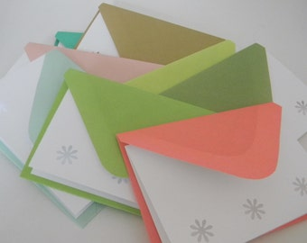 Enchanted Handcrafted envelopes