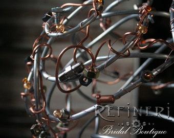 Metal Steampunk Bouquet: Industrial Arrangement