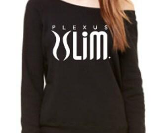 Plexus Slim Fleece Wide Neck Sweatshirt