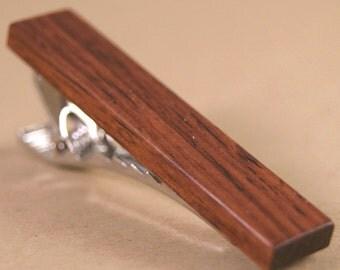 Men's Tie Bar - Honduras Rosewood - Great collector's item