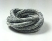 White Black Felted Bangles / Modern Bracelet / Felted Bracelet / from Twisted Felt Collection - Made To Order