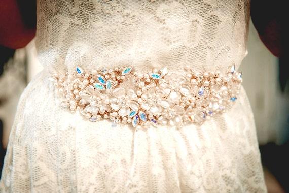 Bridal belt, MAGALI, wedding dress belt, wedding belt, bridal sash, sash belt
