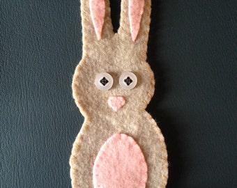 brown bunny felty