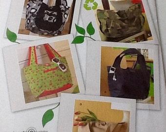 Purse pattern uncut, Shoulder Handbag, Several Versions