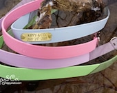 Waterproof Dog Collar // Water Dog Collar // Easy to Clean Collar // Odor Free Dog Collar //  Waterproof Collar // No Stink Dog Collar