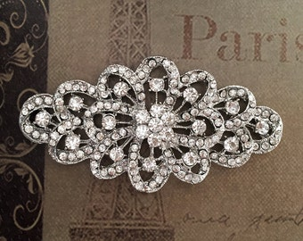 Wedding Brooch Rhinestone Brooch Bridal Brooch Crystal Brooch