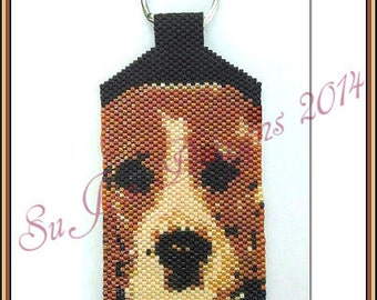Beagle - Key Chain / Ornament - PATTERN ONLY