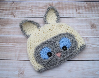 Baby Crochet Hat, Crochet Baby Hat, Baby Photo Prop, Newborn Hat, Infant Baby Hat, Baby Cat Hat, Baby Girl Hat, Baby Boy Hat, Baby Beanie,